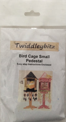 Twiddleybitz Bird Cage Small Pedestal