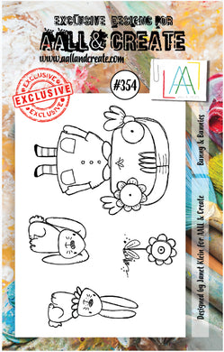 AALL & Create - A7 Clear Stamp Set Designed by Janet Klein - #354