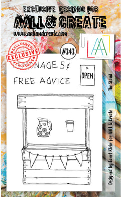 AALL & Create - A6 Clear Stamp Set Designed by Janet Klein - #343