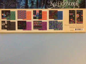 "Graphic 45 Kaleidoscope Collection Pack 12"" x 12"" Paper Pad & Stickers"