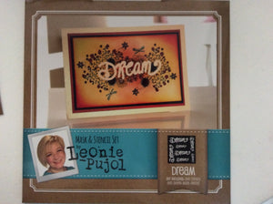 SALE Crafters Companion Mask & Stencil Set by Leonie Pujol - Dream