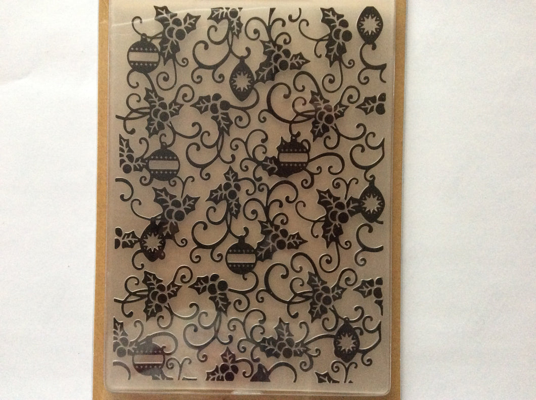 "Crafters Companion Embossing Folders by Leonie Pujol - Baubblelicious 5"" x 7"""