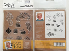 Crafters Companion Photopolymer Stamp Set Designed by Leonie Pujol A6 - Flower Burst