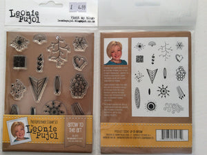 SALE Crafters Companion Photopolymer Stamp Set Designed by Leonie Pujol A6 - Arrow to the Art