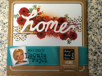 Crafters Companion Mask & Stencil Set by Leonie Pujol - Home