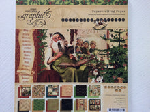"Graphic 45 Christmas Emporium 8"" x 8"" Double Sided Designs - 12 Sheets"