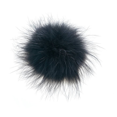 Vail Pom-Pom with Snap in Black PREORDER