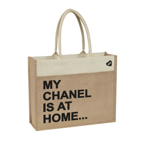 My Chanel Is At Home Tote