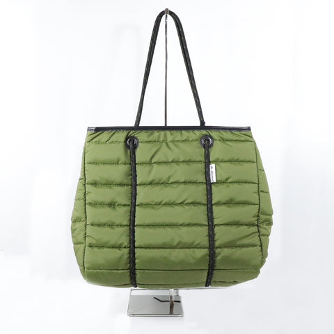 Army Puffer Tote