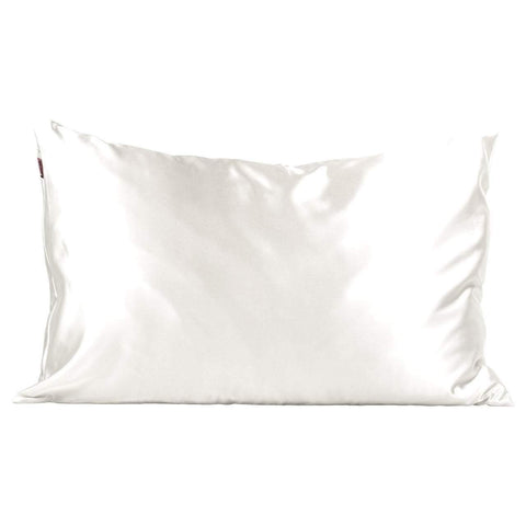 Satin Pillowcase in Ivory