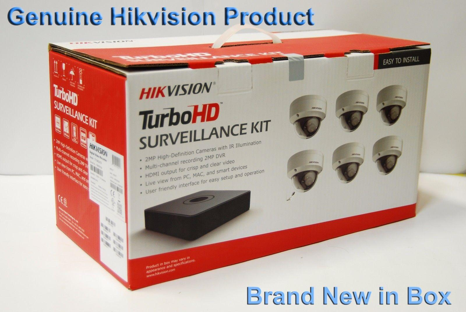 Hikvsion USA T7108Q2TB 8CH 1080P TurboHD Pro TVI Kit/2TB HDD Built-in
