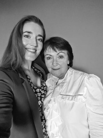 Mother and Daughter founders of Irish Family hand made Brand