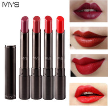Load image into Gallery viewer, MYS Brand Beauty Matte Lipstick Long Lasting Tint Lips Cosmetics Lipgloss Maquiagem Makeup Red Batom