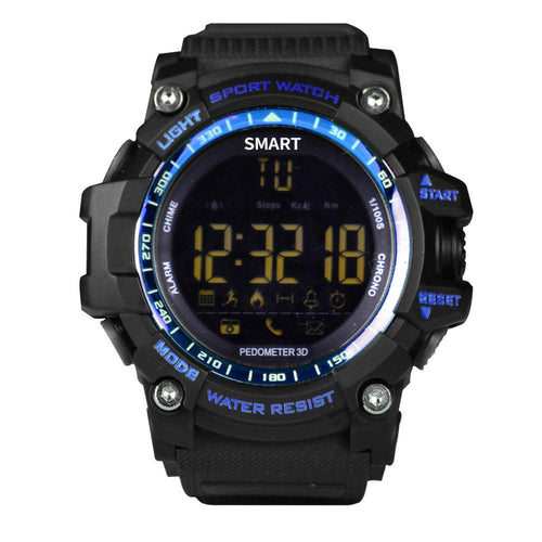 Luxury Brand Smart Watch Men With BT Call/ SMS /Twitter/ Facebook/ Whatsapp/ Skype Reminder Sports Steps Counting