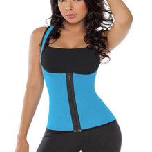 Load image into Gallery viewer, Sauna Sweat Enhancing Zipper Vest (S to 3XL)