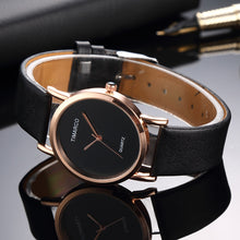 Load image into Gallery viewer, Fashion Women Wrist Watch reloj Trendy Simple Leather Brand Ladies Quartz Watches relogio feminino Student Clock bayan kol saati
