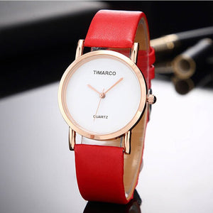 Fashion Women Wrist Watch reloj Trendy Simple Leather Brand Ladies Quartz Watches relogio feminino Student Clock bayan kol saati