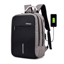 Load image into Gallery viewer, women USB Backpack laptop bag anti-theft computer bag