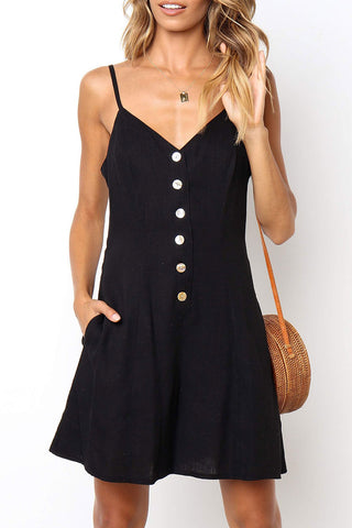 Seastylish Casual V Neck Lace-up Jumpsuit
