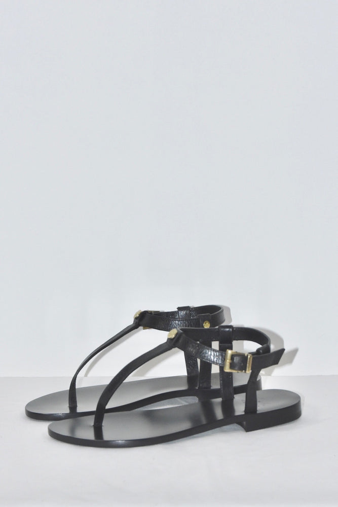 Il Bisonte Leather Sandals - + colors