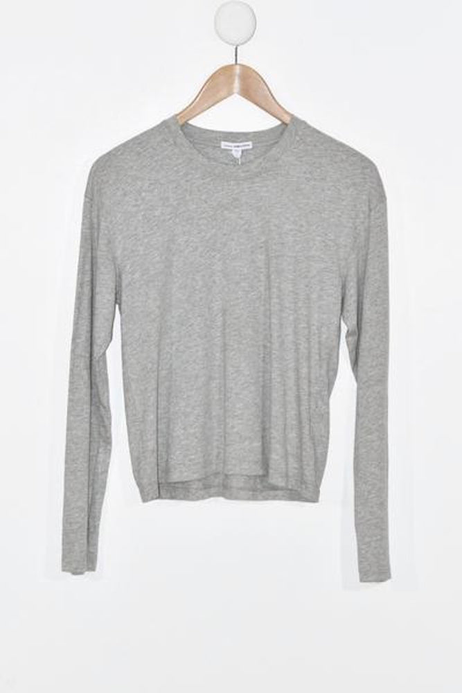 James Perse Vintage Boxy L/S Tee