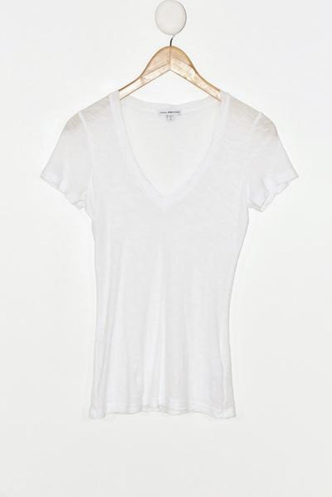 James Perse Slub V Neck - + colors