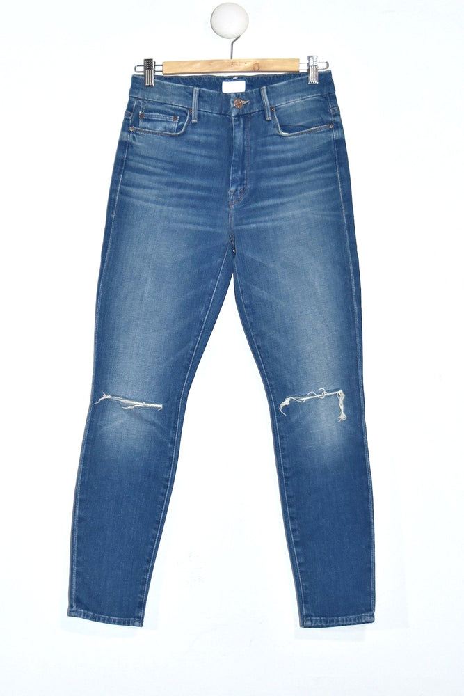 Mother Denim HW Looker Ankle