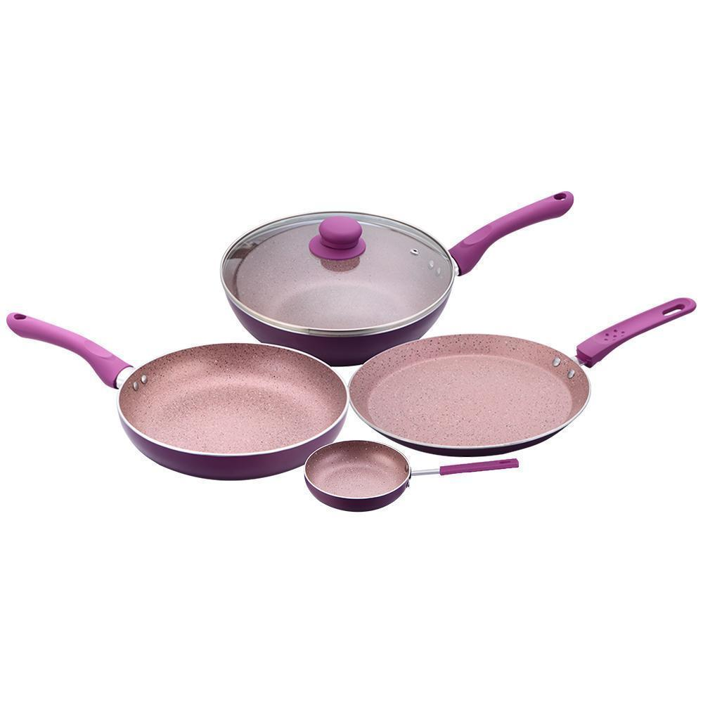 Wonderchef Royal Velvet Purple Set