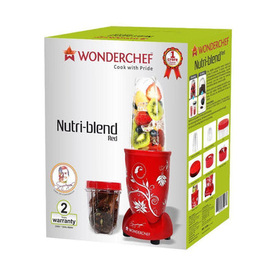 Wonderchef Nutri-Blend Red