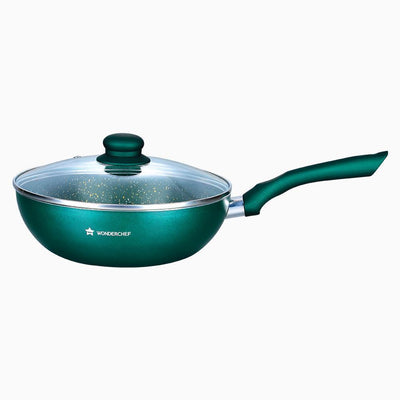 Royal Velvet Olive Green Wok