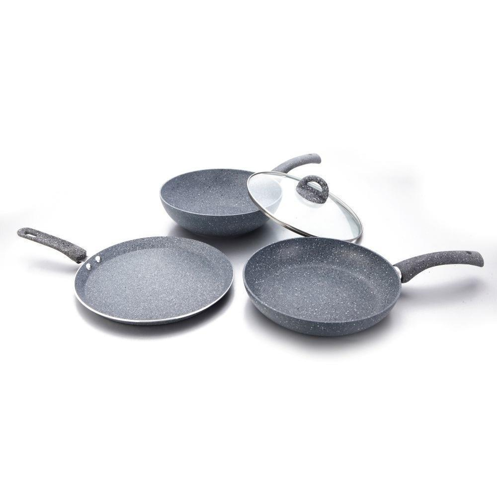 Wonderchef Granite Set With Free Dosa Tawa 26cm