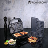 Wonderchef  Prato 3 In 1 Sandwich Maker