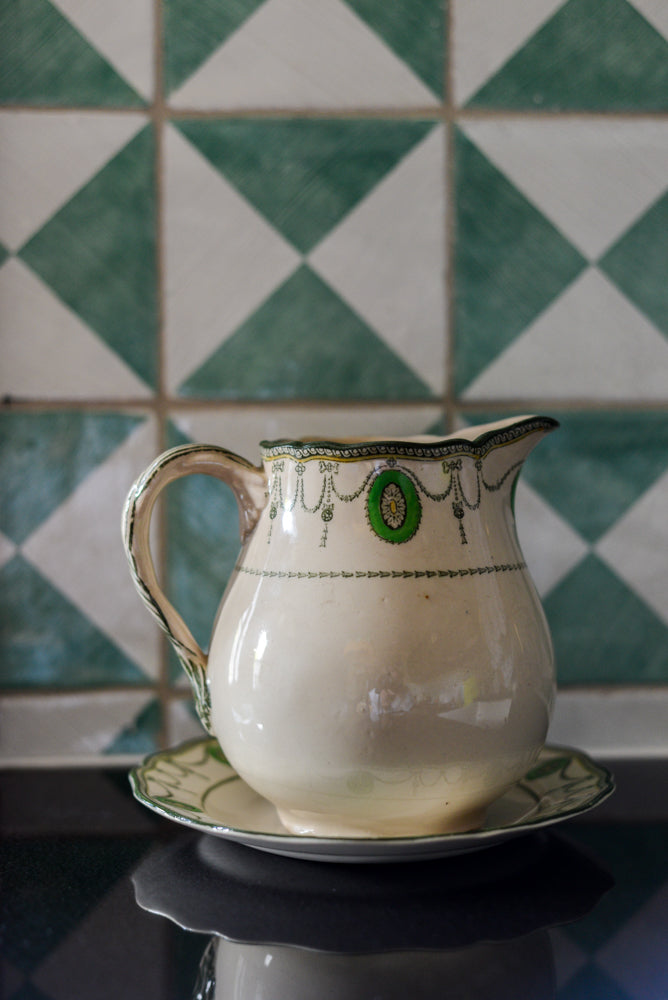 Royal Doulton Jug & plate in 'Countess' pattern