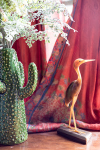 Sculptural Vintage Bird Statue