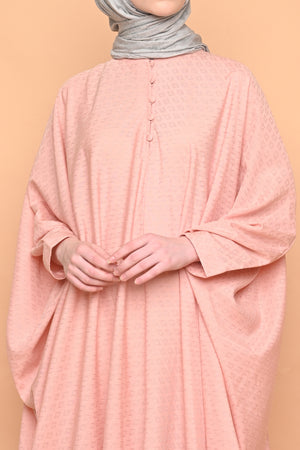Asuka Kaftan in Salmon