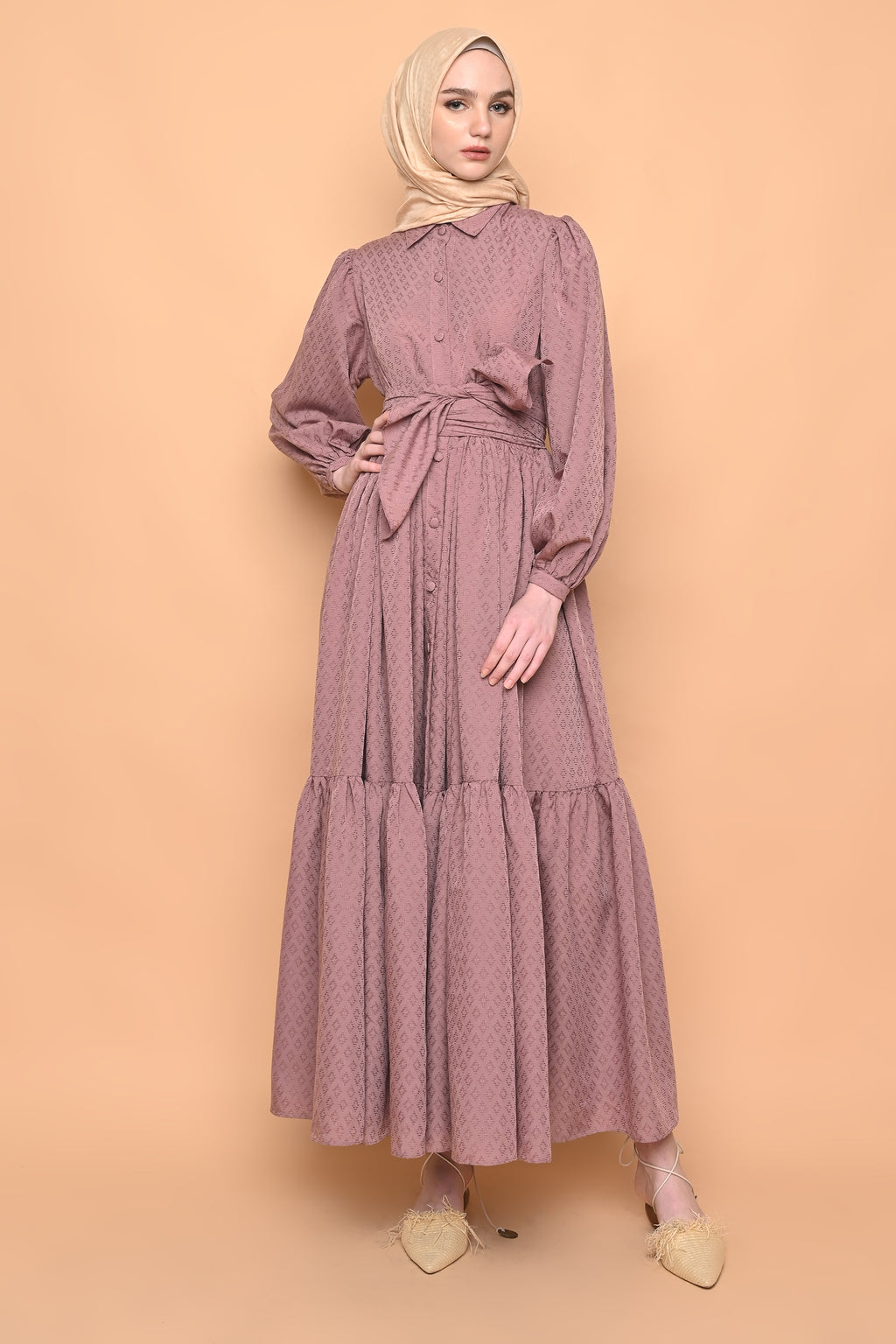 Naomi Dress in Mauve