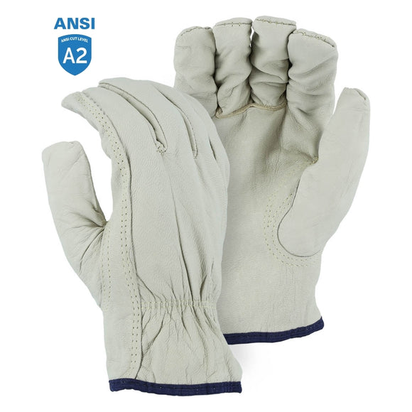 Majestic 1554KV Goatskin Drivers Glove with Cut Resistant Kevlar Lining
