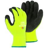Example of the Majestic 3396HYN Hi-Vis Polar Penguin Winter Gloves with Personalized logo
