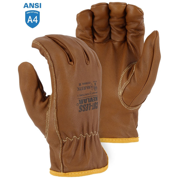 Majestic 1555WRK Cut-Less with Kevlar Goatskin glove