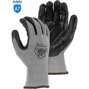 Majestic 35-7660 Cut-Less Watchdog Extreme Cut Resistant Gloves with Flat Nitrile Palm Coating