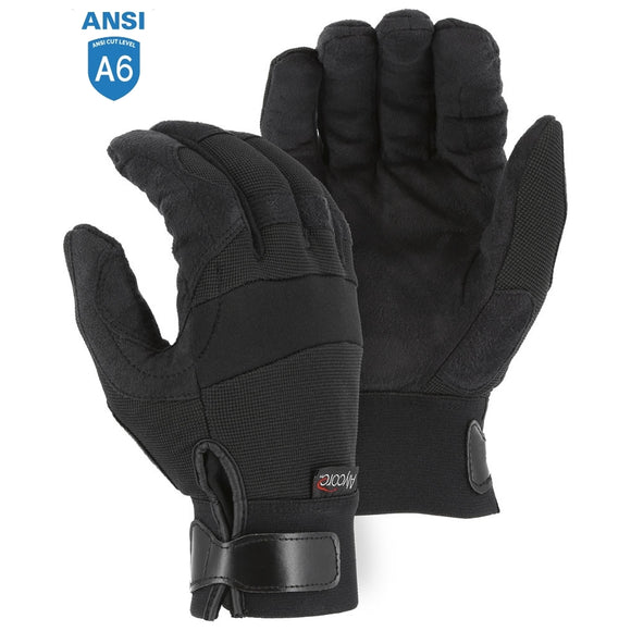 Majestic A1P37B Powercut with Alycore Cut & Puncture Resistant Mechanics Glove