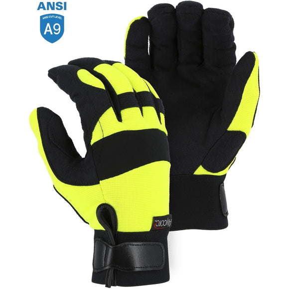 Majestic A2P37Y Powercut with Alycore Cut & Puncture Resistant Mechanics Glove