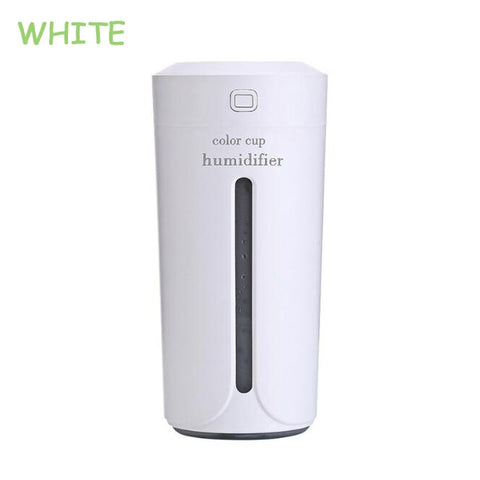 Mini ultrasonic desk humidifer