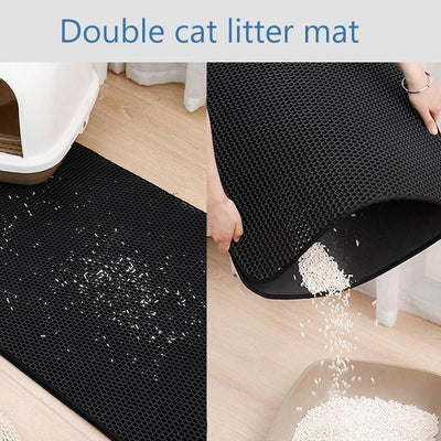 Litter Sand Mat, Double Layer, Washable