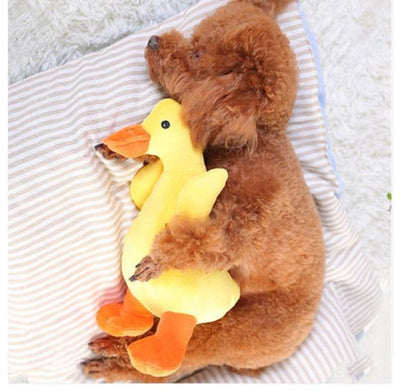 Yellow Duck Chewing Toy