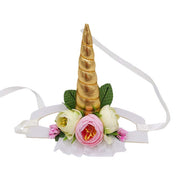 Unicorn Shape Hat with Ribbon String