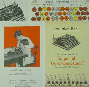 Typewriter ,  Imperial 1934  - The Good Companion 1