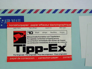 Tippex Correction Paper - White