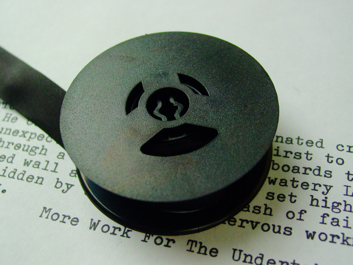 New Silk Plain Black Universal Typewriter Ribbon