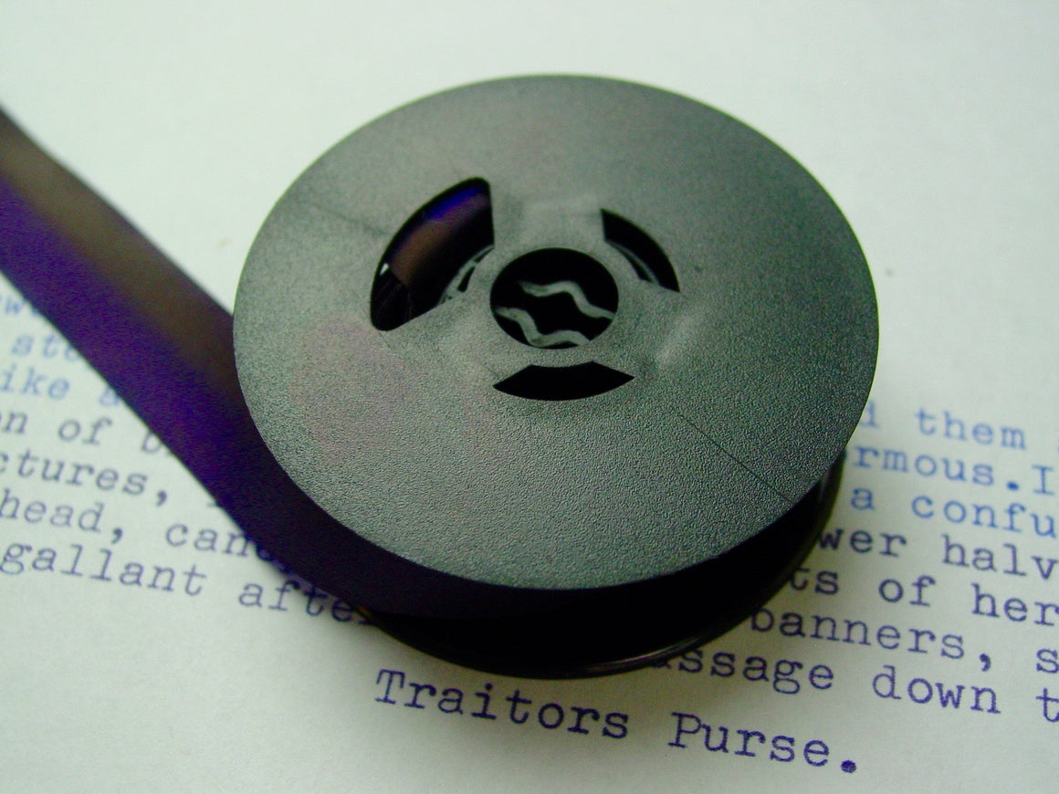 New Navy Blue and Purple Universal Typewriter Ribbon